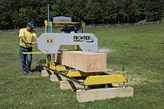 Frontier OS31 Sågverk - 5.5kW (400v, S1) elektrisk motor & 4.2m (14ft) logg däck